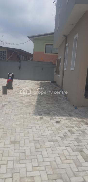 a Lovely and Good 4 Bedrooms Terraced Duplex with Bq, Off Bode Thomas Road, Surulere, Lagos, Terraced Duplex for Sale