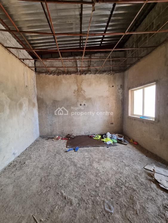 Affordable 4 Bedrooms Terraced Carcass in a Beautiful Location, Katampe Extension, Katampe, Abuja, Terraced Duplex for Sale