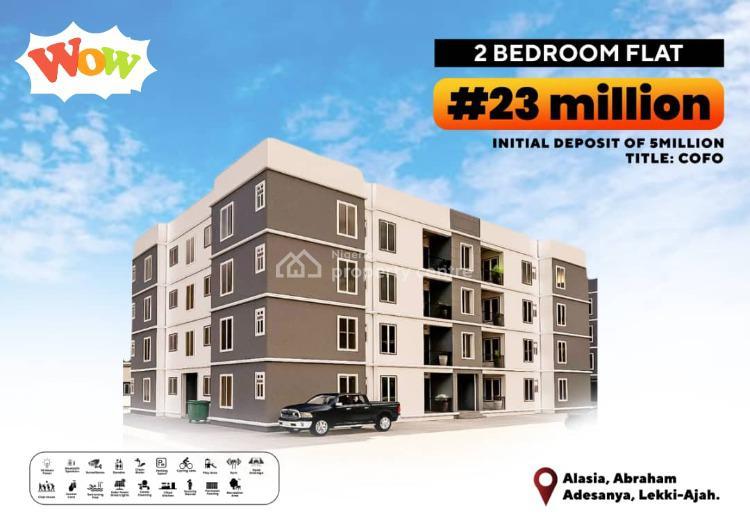 2 Bedrooms Flat, Alasia, Abraham Adesanya, Ajah, Lagos, Block of Flats for Sale