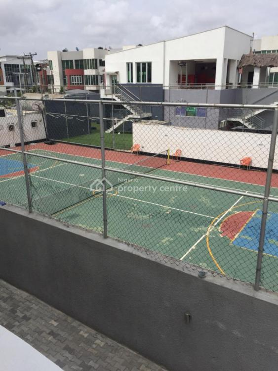 Beautifully Finished 4 Bedroom Massionette with B/q, Richmond Estate, Lekki, Lagos, Semi-detached Duplex for Rent