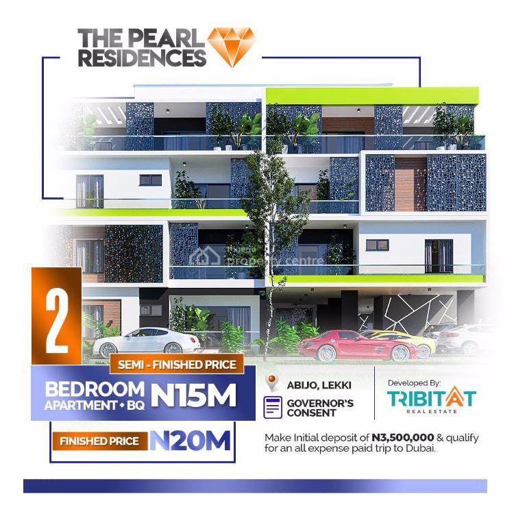 2 Bedrooms Apartment + Bq, The Pearl Residence, Abijo, Lekki, Lagos, Semi-detached Duplex for Sale