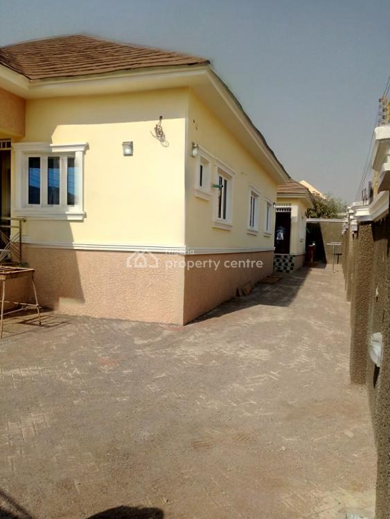 Newly Built 3 Bedroom Detached Bungalow with 1 Bedroom Flat Bq, By Promenade Estate, Lokogoma District, Abuja, Detached Bungalow for Sale