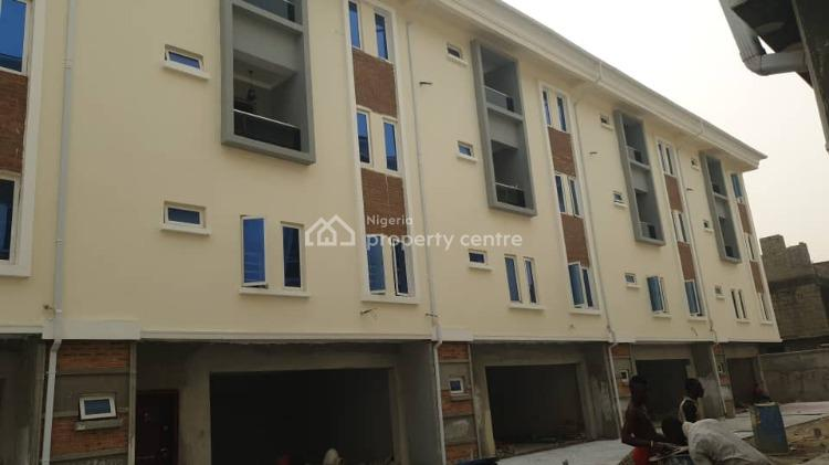Newly Built 5 Bedrooms Terrace, Off Idado Road, Idado, Lekki, Lagos, Terraced Duplex for Sale