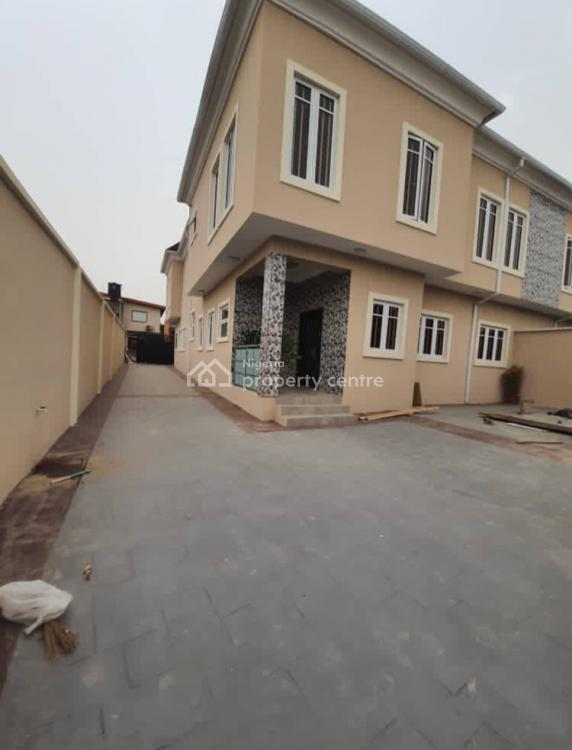 Newly Built 4 Bedrooms Semi Detached Duplex with Modern Facilities and, in a Good Location of Omole Ph2 Ikeja Lagos, Omole Phase 2, Ikeja, Lagos, Semi-detached Duplex for Rent