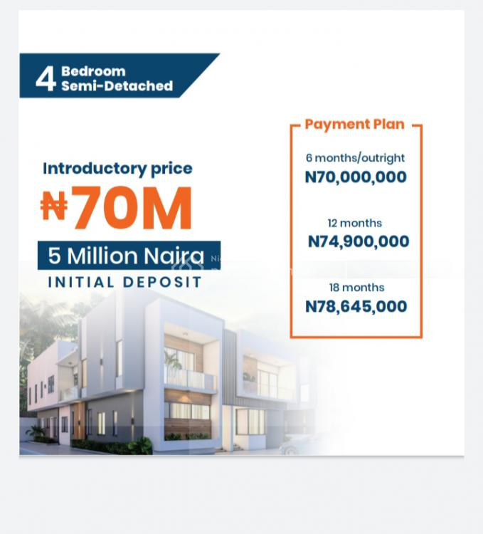 a Remarkable Continuity of Excellence, D Ultimate Spot for Restoration, Urban Prime 3 Phase 3, Ogombo, Ajah, Lagos, Semi-detached Duplex for Sale