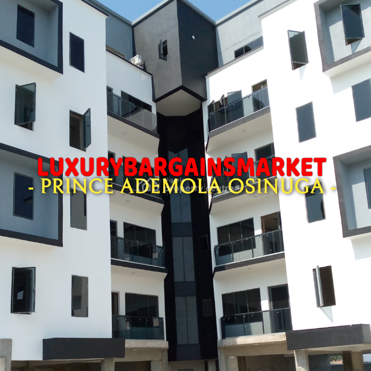 The Cheapest Newly Built Waterview 3 Bedroom Apartment in The Estate, Banana Island, Ikoyi, Lagos, Flat for Sale