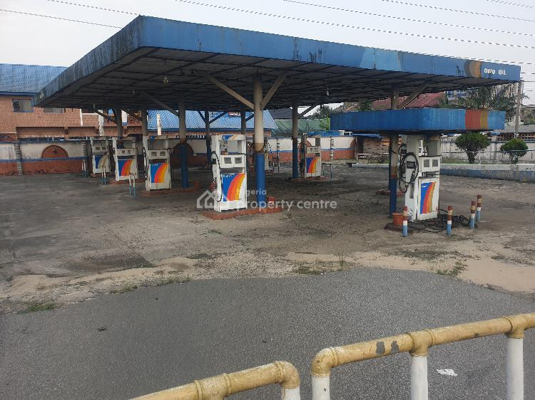 Functional Petrol Station with 12 Double Automatic Pumps on 4 Plots, Along Eliozu Express Road, Port Harcourt, Rivers, Filling Station for Sale
