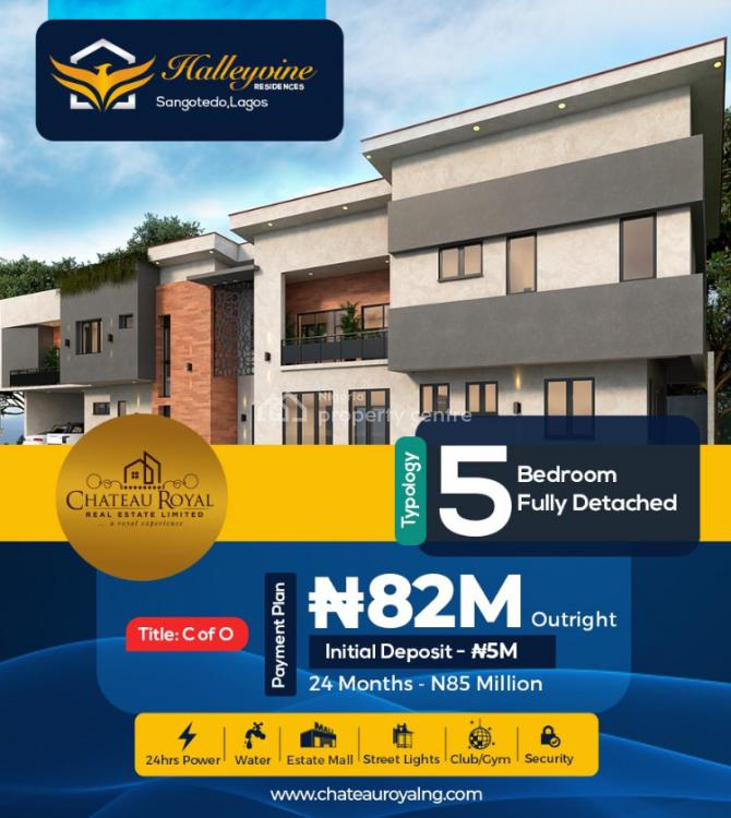 5 Bedroom Fully Detached Duplex, Monastery Road, Sangotedo, Ajah, Lagos, Detached Duplex for Sale