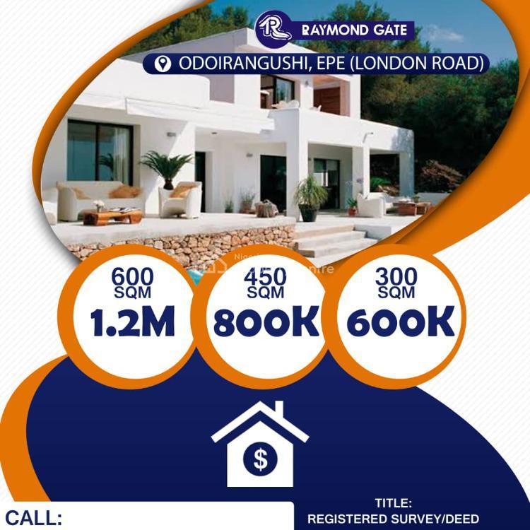 Mixed-use Land, Raymond Gate, Odoirangushi London, Epe, Lagos, Mixed-use Land for Sale