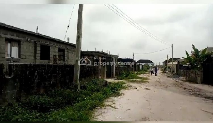 Half Plot of Land in a Decent Location Close to The Road, Onosa Town, Ibeju Lekki, Lagos, Residential Land for Sale