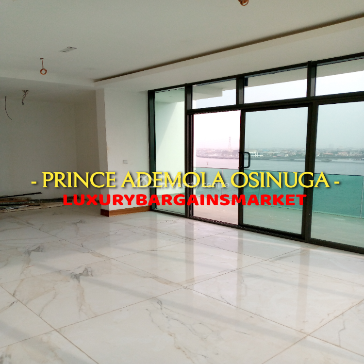 One of The Most Iconic Waterview Properties - 5 Bed Penthouse on 3 Flo, Ikoyi, Lagos, Flat for Sale