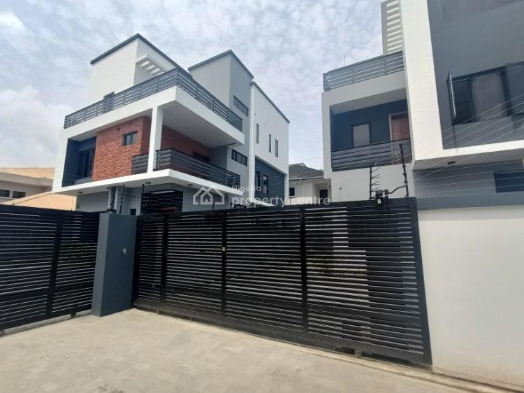 4 Bedrooms Detached House with Bq, Lekki Phase 1, Lekki, Lagos, Detached Duplex for Sale