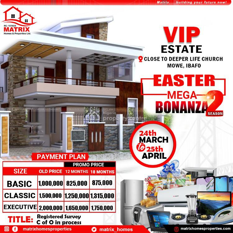 Affordable Plots of Land in a Secured and Strategically Location, Pakuro, Ibafo, Ogun, Residential Land for Sale