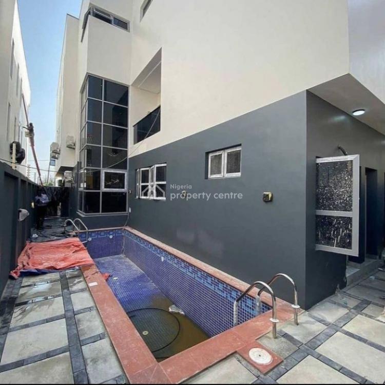 Massive 5 Bedroom Fully Detached Smart Home with 1bq, Lekki Phase 1, Lekki, Lagos, House for Sale