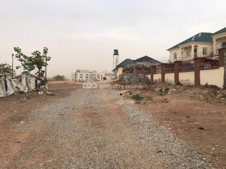 Developrs Delight: Well Shaped & Prime Residential Landuse, Off Reuben Okoya Crescent, Wuye, Abuja, Residential Land for Sale
