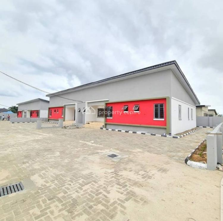 Luxury 3 Bedroom Semi-detach Bungalow, Awoyaya, Ajah, Lagos, Semi-detached Bungalow for Sale