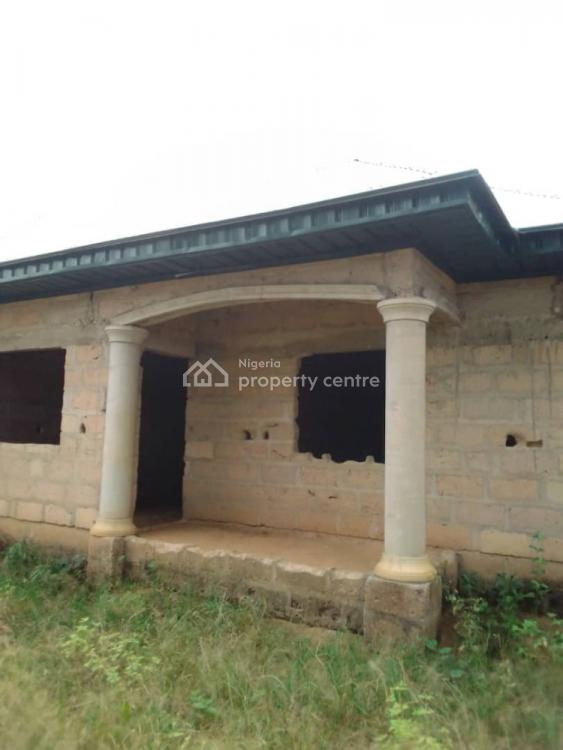 a Two Units of an Uncompleted Two Bedrooms Detached Bungalow, Ifa Ikot Abia, Ikot Akpabio Road, Behind Shelter Afrique Estate, Uyo, Akwa Ibom, Block of Flats for Sale