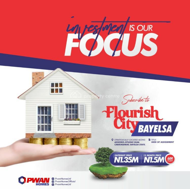 Land, Flourish City Estate, Yenagoa, Bayelsa, Mixed-use Land for Sale
