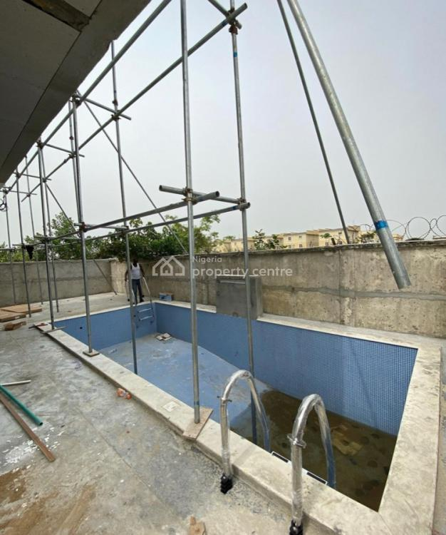 an Exquisite 5 Bedroom Fully Detached Duplex with a Swimming Pool, Pinnock Beach Estate, Osapa, Lekki, Lagos, Detached Duplex for Sale