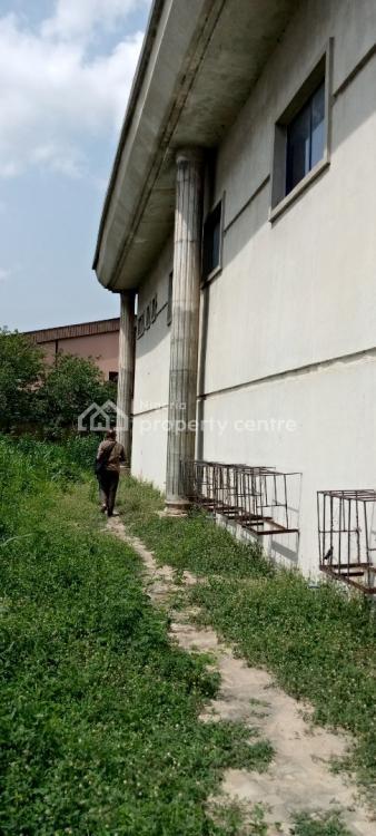 Unused Bank Building on 4 Plots of Land, C of O, Obale Aro, Demurin, Alapere, Ketu, Lagos, Warehouse for Sale