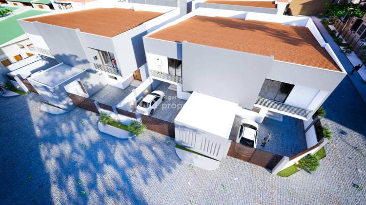 3 Units of 4 Bedrooms Semi-detached Apartments with Bq, Uwandulu Street, Agungi, Lekki, Lagos, Semi-detached Duplex for Sale