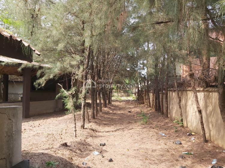 1950m2 Residential Land with Structure, Pope John Paul, Maitama District, Abuja, Residential Land for Sale