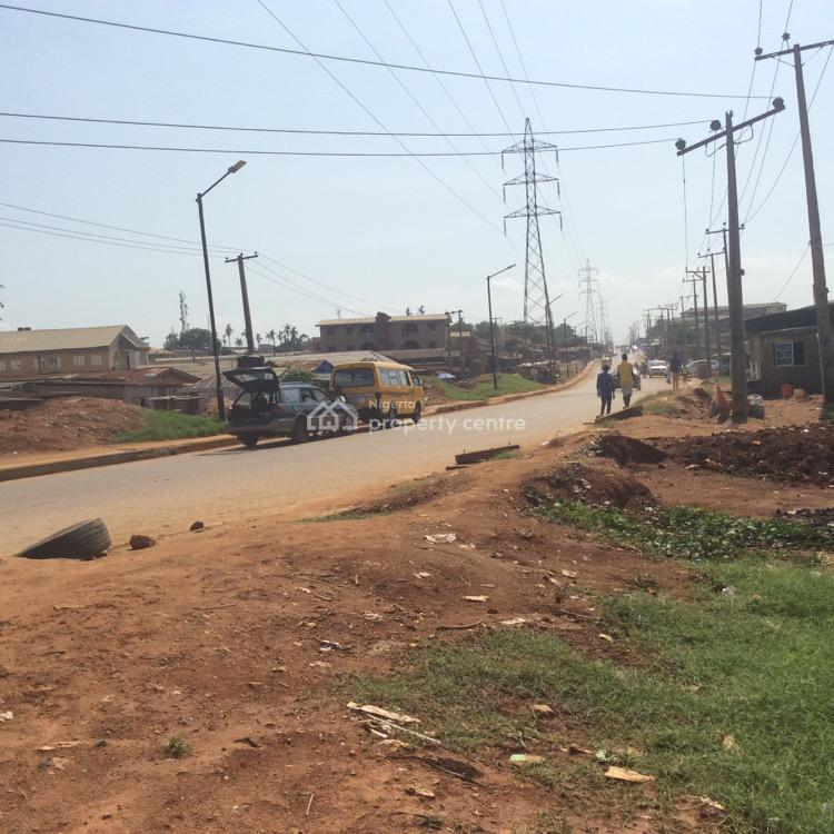 Commercial Land Facing Major Road, Powerline Road Sabo Axis, Ikorodu, Lagos, Commercial Land for Sale