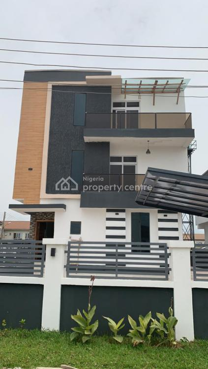 5 Bedroom Duplex with Swimming Pool in a Secured Estate, Orchid Road, Lafiaji, Lekki, Lagos, Detached Duplex for Sale