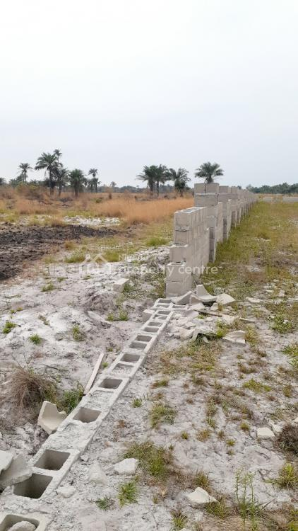 Land Available in a Secured Fenced Estate in a Serene Neighbourhood, Along Free Trade Zone Area, Ode Omi, Ibeju Lekki, Lagos, Mixed-use Land for Sale