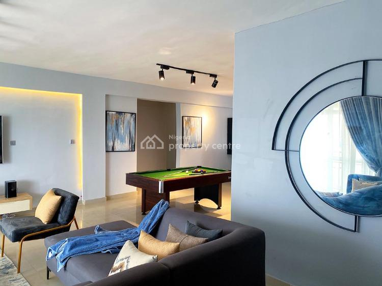 Luxurious Ocean View Apartment with Swimming Pool and Snooker Board, Admiralty, Lekki Phase 1, Lekki, Lagos, Flat Short Let