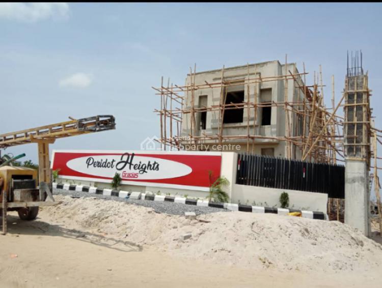 Luxury 3 Bedroom Maisonette with Bq, Skyeview Housing Scheme Adjacent Novare Mall Sangotedo Et, Sangotedo, Ajah, Lagos, House for Sale