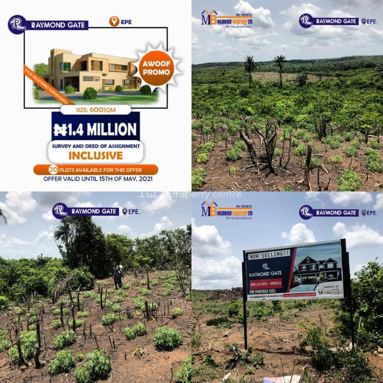 Raymond Gate, Epe, Lagos, Residential Land for Sale