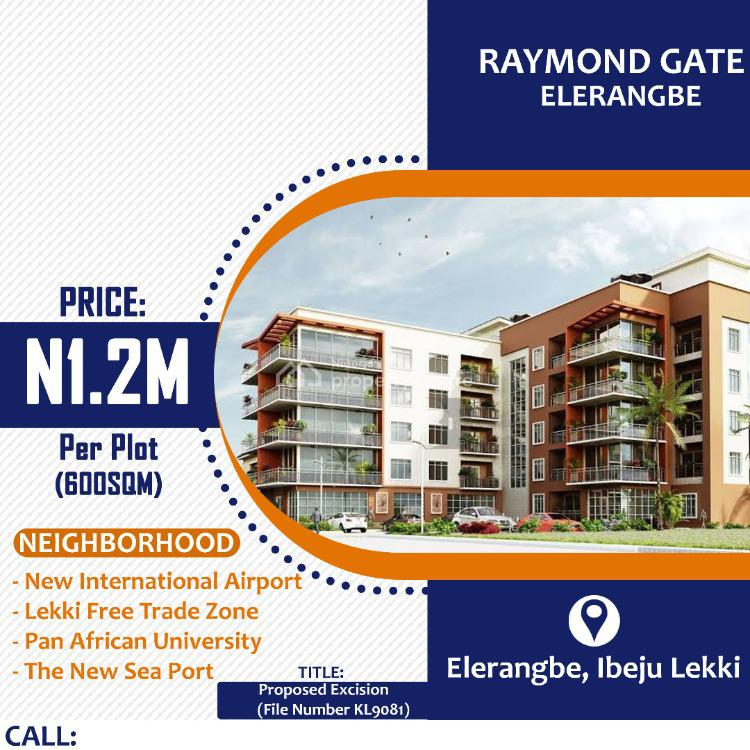 Land, Raymond Gate, Eleranigbe, Ibeju Lekki, Lagos, Residential Land for Sale