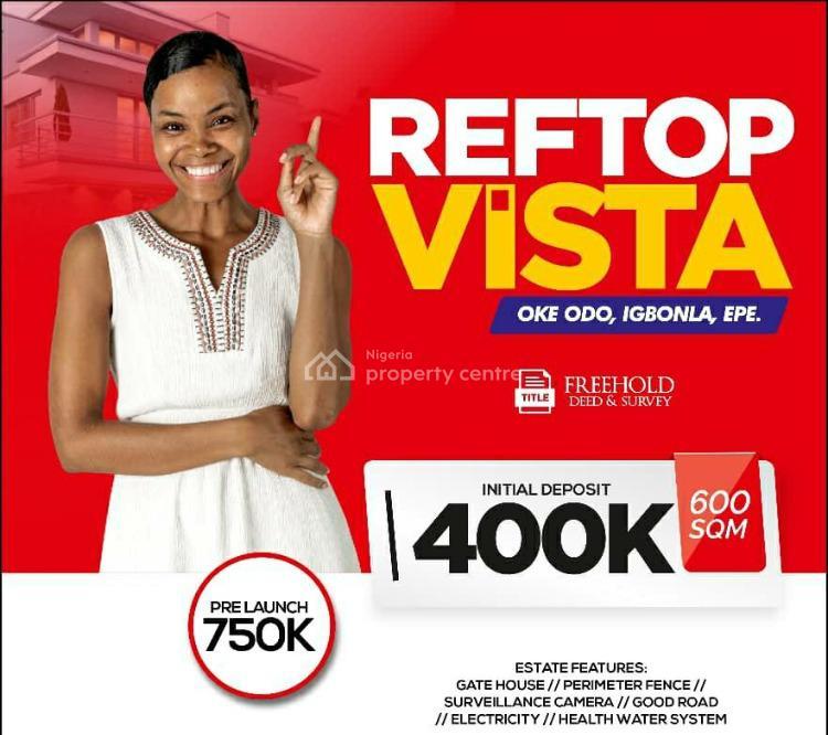 Reftop Vista, Ilara Oke,igbonla, Epe, Lagos, Residential Land for Sale