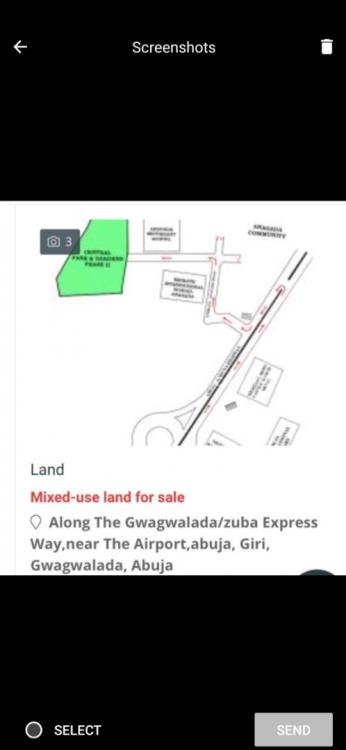 a Plot of Land in a Serene Environment, Giri ,by Airport Road, Gwagwalada, Abuja, Land for Sale