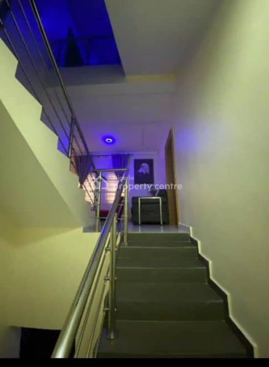 Fully Furnished 4 Bedroom Terrace, Bq, Cctv, Gardens, Smart Lighting, Guzape District, Abuja, Terraced Duplex for Sale