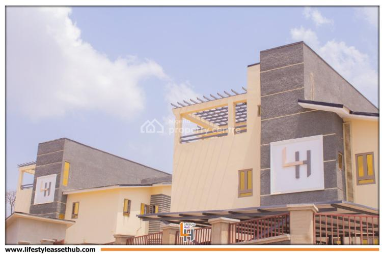 Newly 4 Bedroom Terraces Duplex, Guzape District, Abuja, Terraced Duplex for Sale
