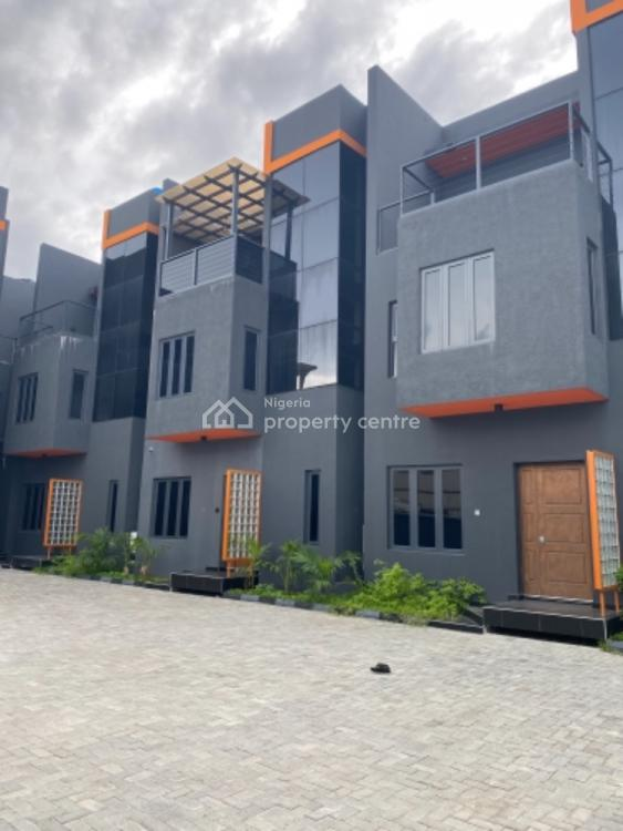 Exquisite Finished 4 Bedroom Terrace with a Bq with 24hours Power., Marwa, Lekki, Lagos, Terraced Duplex for Sale