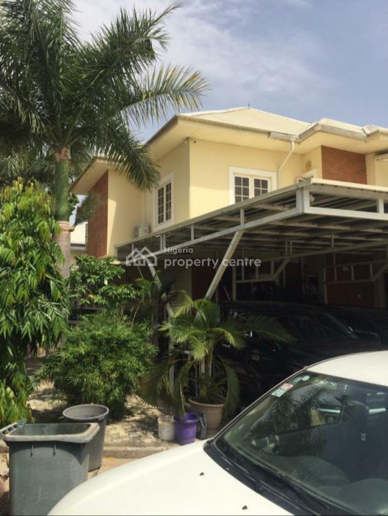 5 Bedroom Luxury House in a Highbrow Neighbourhood, Balance Sokoto Street, Jabi, Abuja, Semi-detached Duplex for Sale