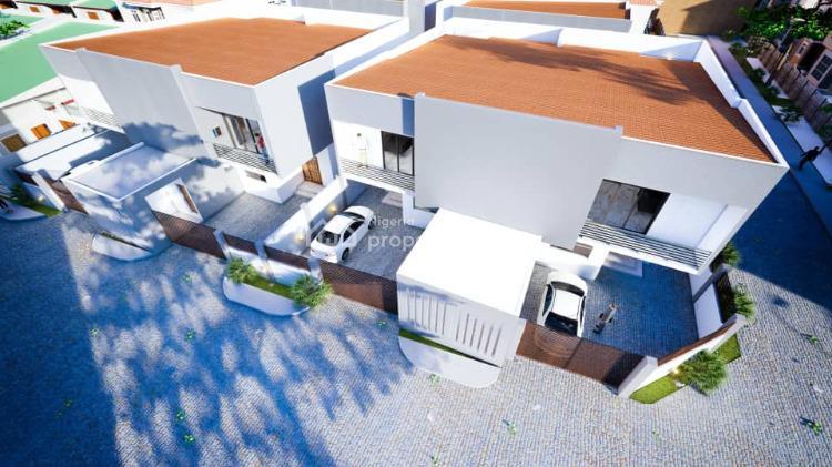 3 Units of 4 Bedrooms Semi Detached Duplex with Bq, Off Agungi Road, Agungi, Lekki, Lagos, Semi-detached Duplex for Sale