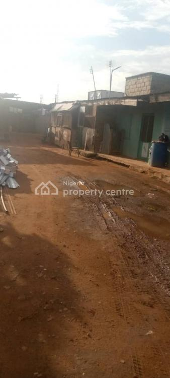 One & Half Plot of Fenced Land with a Bungalow, Abule Egba, Ojokoro, Ifako-ijaiye, Lagos, Mixed-use Land for Sale