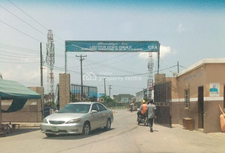 a Fenced and Gated Land, Lakeview Phase Ii Estate, Amuwo Odofin, Lagos, Residential Land for Sale