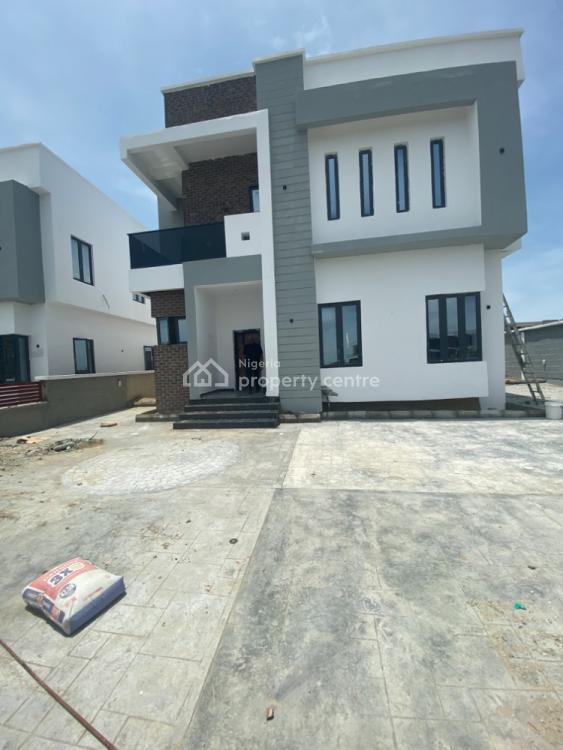Exclusive 5 Bedrooms Fully Detached Hour with Excellent Finishing, Royal Garden Estate, Lekki Expressway, Lekki, Lagos, Detached Duplex for Sale