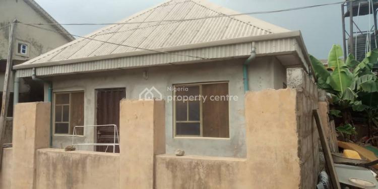 2 Bedroom Flat on Pieces of Land, Meiran,agbado Oke-odo Lcda, Meiran, Agege, Lagos, Detached Bungalow for Sale