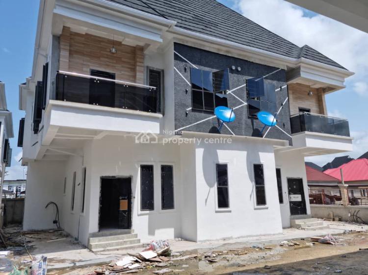 4 Bedroom Semi Detached Duplex + Bq, Off Chevron Toll Gate, Lekki Expressway, Lekki, Lagos, Semi-detached Duplex for Sale