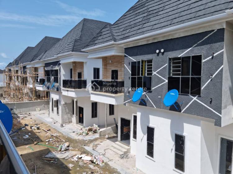 Newly Built 4 Bedroom Semi Detached Duplex + Bq, Lekki, Lagos, Semi-detached Duplex for Sale