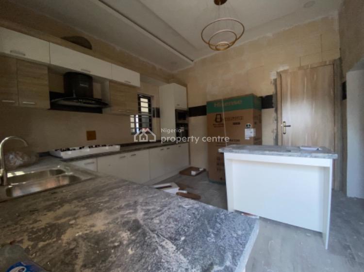 Luxury & Massive Newly Built 5 Bedroom Detach House with a Bq, Chevron, Lekki Phase 2, Lekki, Lagos, Detached Duplex for Rent