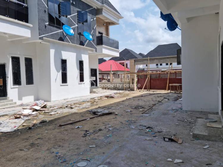 Newly Built 4 Bedroom Semi Detached Duplex + Bq, H Homes, Off Chevron Toll Gate, Lekki, Lekki, Lagos, Semi-detached Duplex for Sale