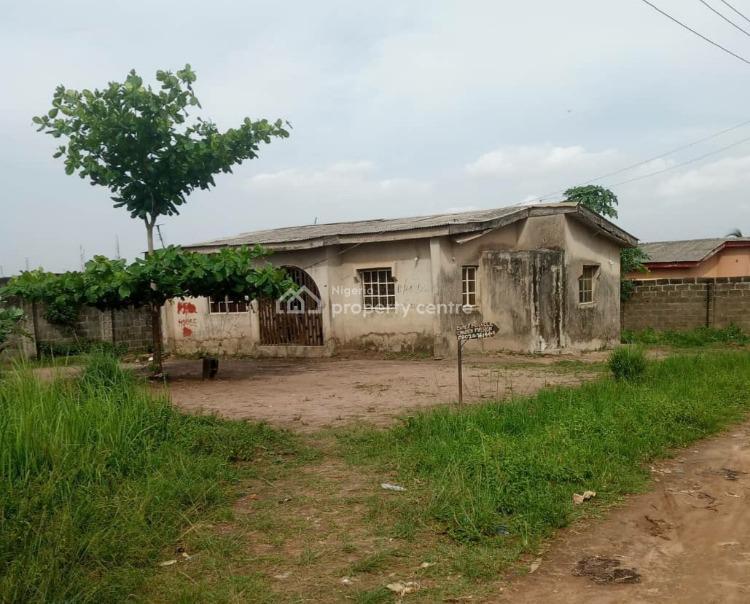 3 Bedroom Bungalow Structure on Half Plot of Land., Amikanle, Alagbado, Ifako-ijaiye, Lagos, Detached Bungalow for Sale