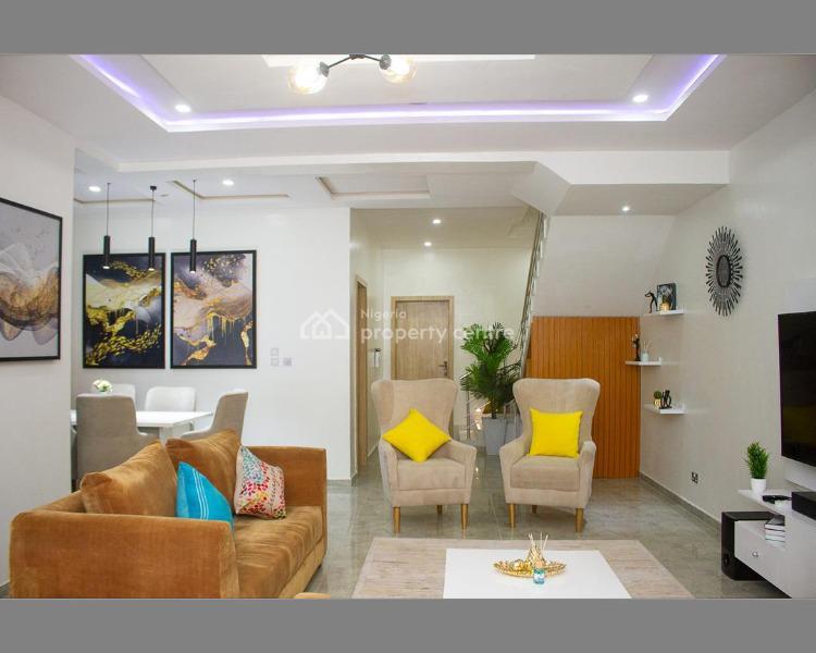Contemporary 4 Bedroom Duplex, Osapa, Lekki, Lagos, Terraced Duplex Short Let